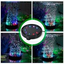 Led-Lighting Decoration Aquarium Fish-Tank Aquatic DADYPET Submersible-Air Pet-Supply