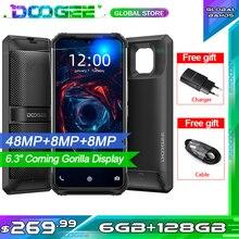 "DOOGEE S95 Modular Rugged Mobile Phone IP68 Smartphone 6.3"" Helio P90 Octa Core 6GB 128GB 48MP Triple Camera Android 9.0 5150mAh"