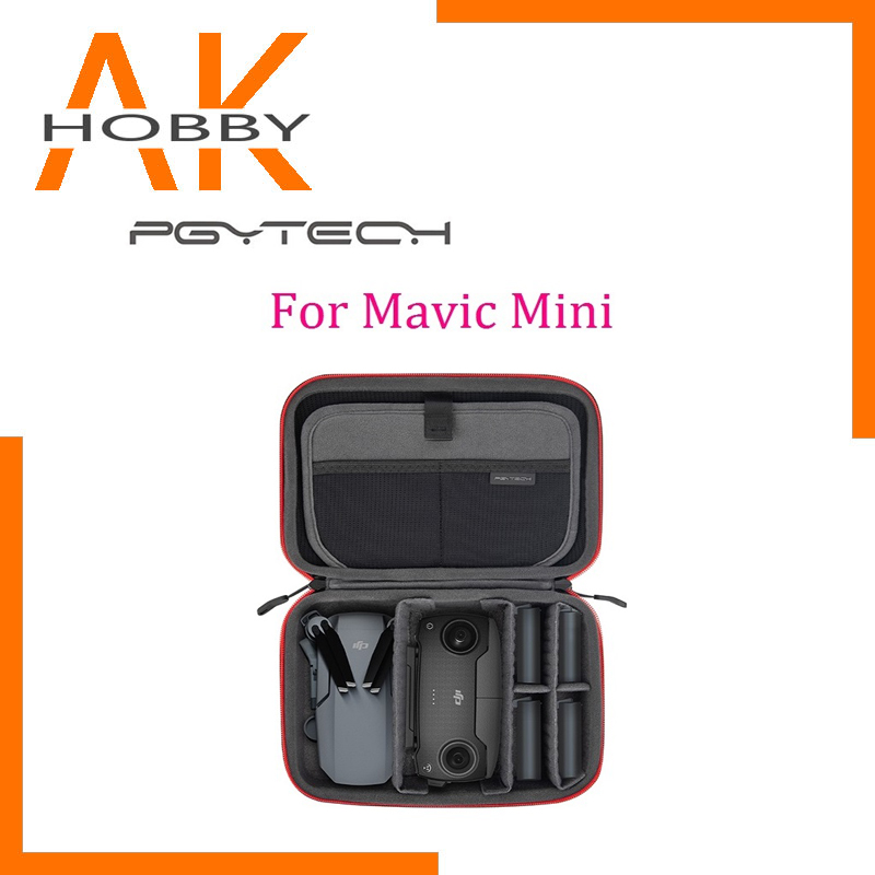 PGYTECH Carrying Case Storage Bag Wear-resistant Fabric, Compact And Portable For DJI Mavic Mini Drone Accessories