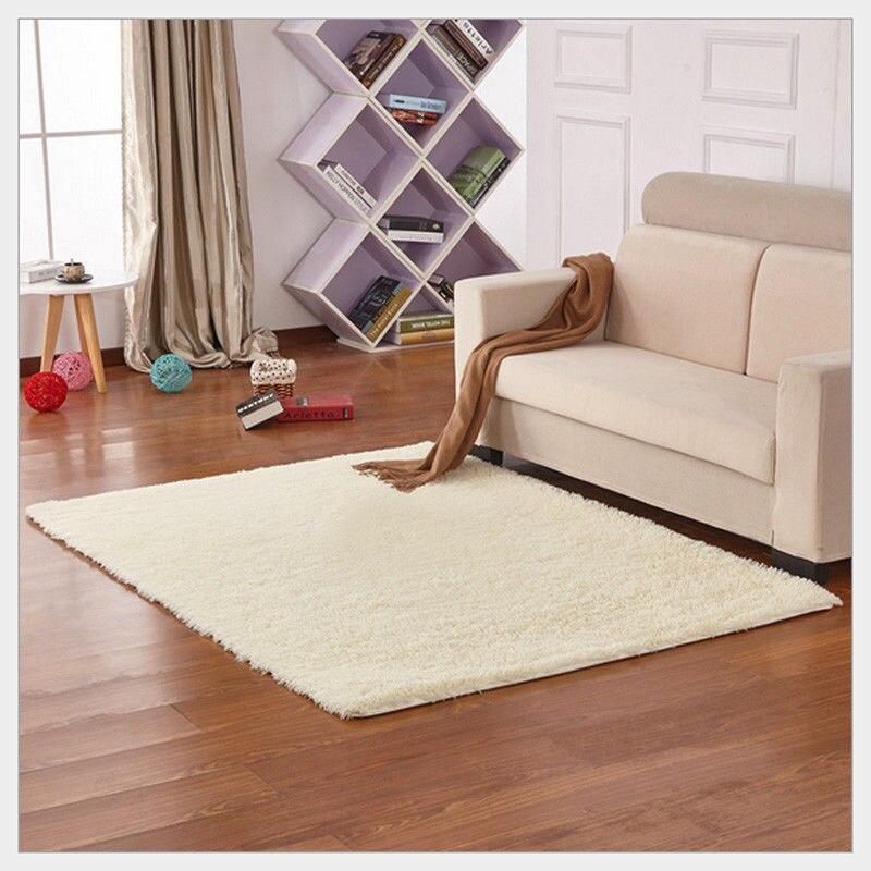 200cm * 300cm 13 Color Living Room/bedroom Wool Rug Antiskid Soft  Carpet Carpet Gray White Blue Brown Pink Purpule Black Mat