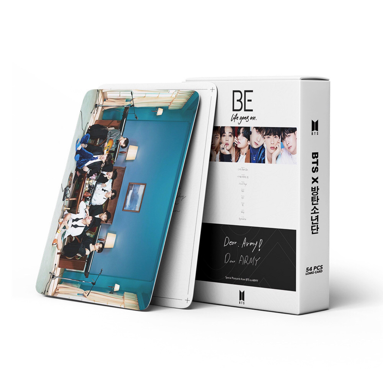 54 шт./компл. 2020 Горячая K-POP Bangtan Boys ЛОМО карта Плакат новый альбом быть Фотокарта карты стенку баннер Чжон ку SUGA