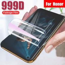 Изогнутая мягкая защитная Гидрогелевая пленка для Huawei Honor 20 Pro 8 9 10 Lite 8X 9X 8S 20S 10i полная защитная пленка для экрана