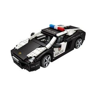 Image 4 - לוז טכני מיני בלוקים רכב רכב דגם אבני בניין מכונית מירוץ מכירה גלידת נקניקיות משאית החינוכי צעצועי מתנות