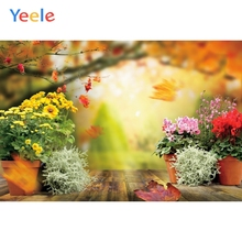 Autumn Flower Wood Floor Newborn Baby Portrait Vinyl Backdrop Photography Backdrops Photographic Background For Photo Studio