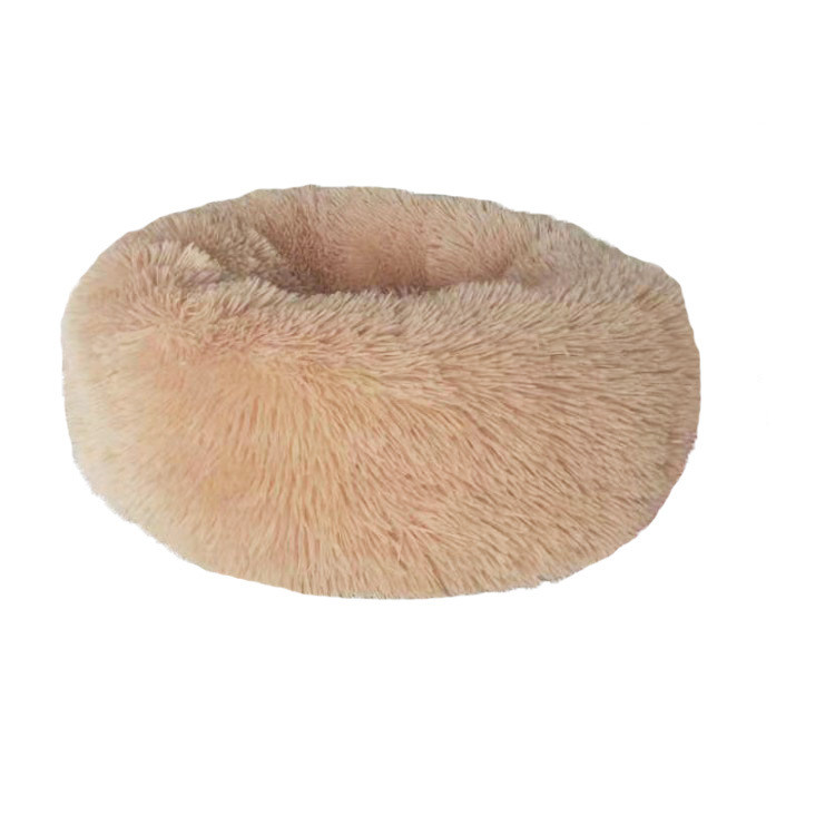 Round and Soft Pet Bed for Dogs and Cats with Anti Slip Bottom Design for Comfortable Sleep of Pets Washable by Machine or Hand 13