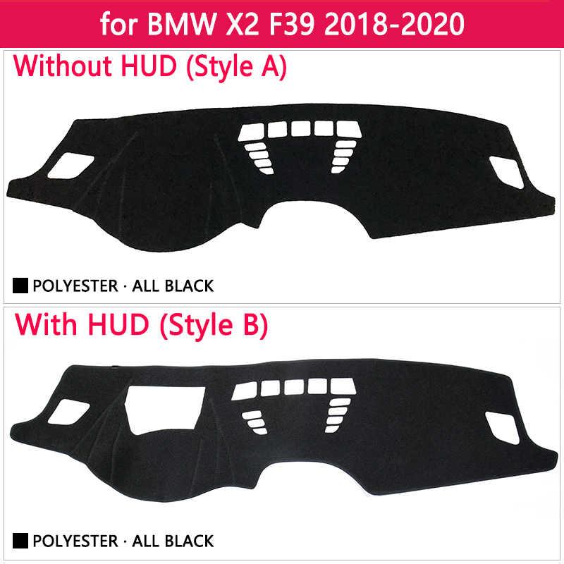 Для BMW X2 F39 2018 2019 2020 Противоскользящий коврик для приборной панели, Накладка для защиты от солнца, коврик для защиты от ультрафиолета, автомобильные аксессуары, коврик