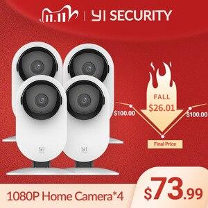 Image 1 - YI Home Camera 1080P 4PCS AI Functions Human Detection Night Vision IP Bayby Monitor WIFI Cam CCTV YI Cloud Camer