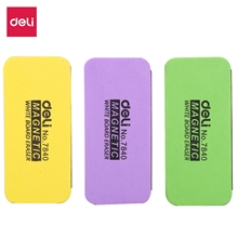 DELI Whiteboard Eraser Magnetic White Board Erasers Dry Erase Marker Cleaner School Office Whiteboard Supplies 7840