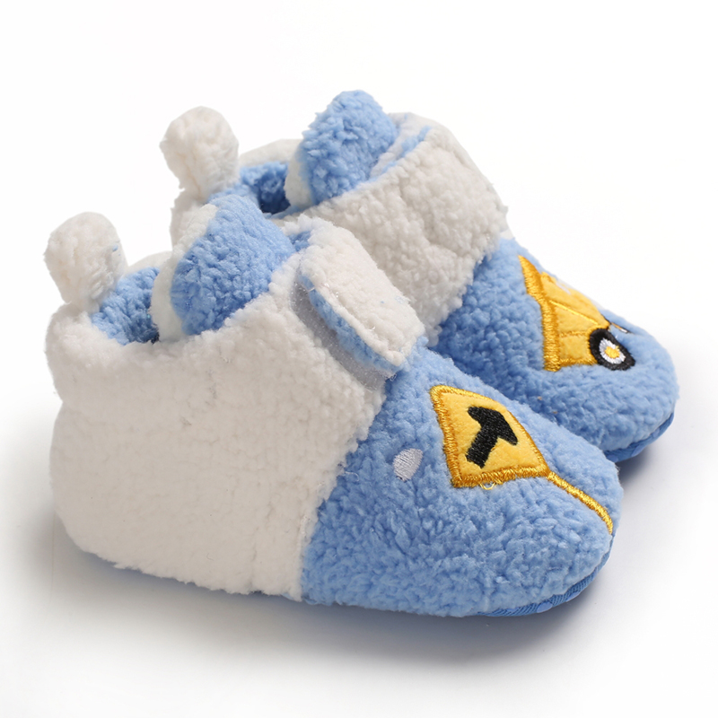 Winter Infant Boots New Baby Girl Boy Snow Boots Toddler Warm Plush Children Outdoor Boots Soft Bottom Kids Cotton Shoes