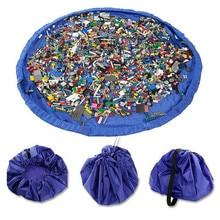 2019 Storage Toy Bag Portable Waterproof Kids Play Mat Organizer Children Toy Ou