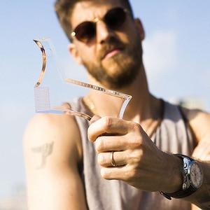 Image 5 - New Arrivals Men Beard Shaping Styling Template Comb Transparent Mens Beards Combs Beauty Tool for Hair Beard Trim Templates