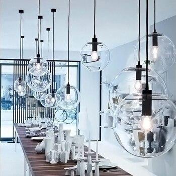 Nordic Pendant Lights Loft Master Bedroom Art Deco Pendant Light Living Room Study Pendant Industrial Cafe Kitchen Hanging Lamps