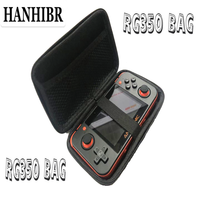 HANHIBR Protection Bag for Retro Game Console RG350 bag Version Game Player RG 350 bag Handheld Retro Game Console