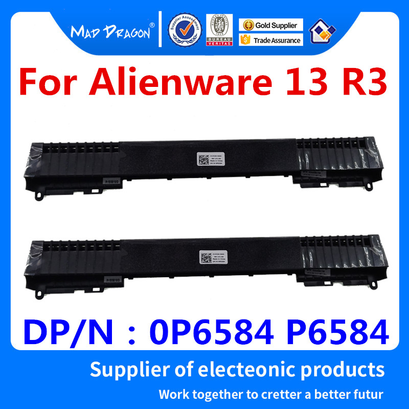 1pcs New For Dell Alienware 13 R3 laptop Tube Hinge cover Heatsink 0P6584