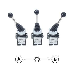 Image 3 - XB2 PA12 xd2 pa12 pa14 2NO 2position 2no2nc 4position Cross push button switch Latching Locking MomentaryJoystick SwitchPA22PA24