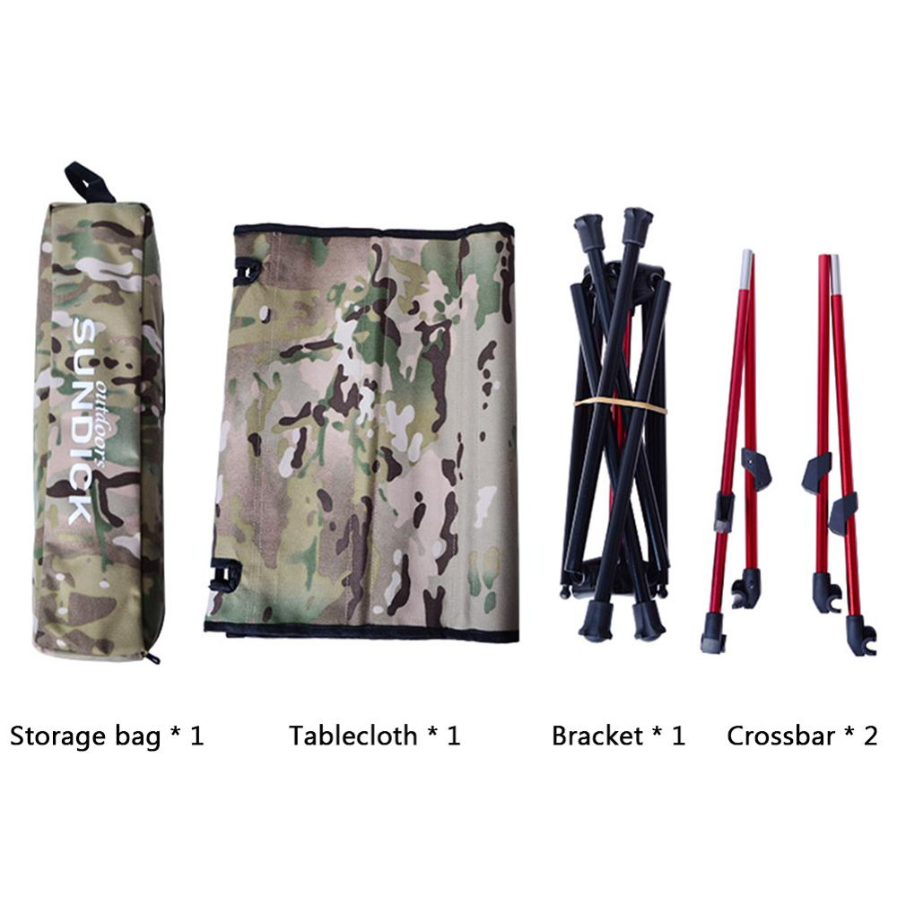 Portable Foldable Camping Table 4