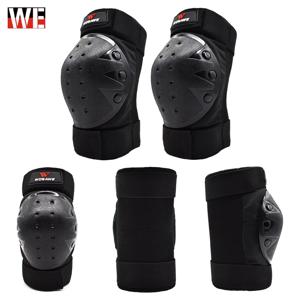 WOSAWE motocross Knee pad Protector riding ski snowboard Tactical Skate Protective Guard motorcycle knee support