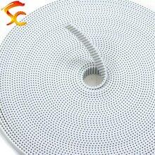 10 meter/Lot PU GT2 8mm/9mm/10mm breite öffnen gürtel Polyurethan Stahl core 2GT 10mm für 3d drucker Kostenloser Versand
