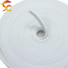 10 metros/lote plutônio gt2 8mm/9mm/10mm largura cinto aberto núcleo de aço poliuretano 2gt 10mm para impressora 3d frete grátis