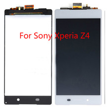 100%Tested Well Working LCD Display+Touch Screen For Sony Xperia Z4 LCD Display With Tools 40 el3216 pwe1xg good working tested
