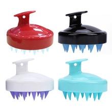 Hair-Brush Shampoo Shower Body-Washing Massage Scalp Health-Care Soft-Silicone