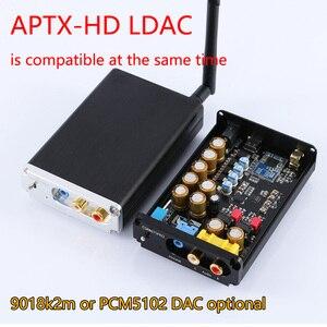 Image 1 - Máy Nghe Nhạc Lossless HIFI CSR8675 APTX HD Bluetooth 5.0 Không Dây Adapter ES9018K2M PCM5102A I2S Đắc Giải Mã 24BIT TWS Ra 2 Đầu RCA 3.5M