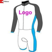 Cycling-Skinsuit Long-Sleeve Custom Without Any-Design Colour-And-Sizes Min-Order High-Quality