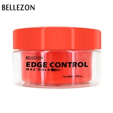 Bellezon Fancy Men Female Hair Oil Wax Cream Edge Control Hair Styling Cream Broken Hair Finishing Anti-Frizz Hair Fixative Gel(China)