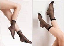New Socks Women Ultra Thin Elastic Nylon Girl Short Stocks Ankle Low Cut Fashion Ultra-thin Wowens