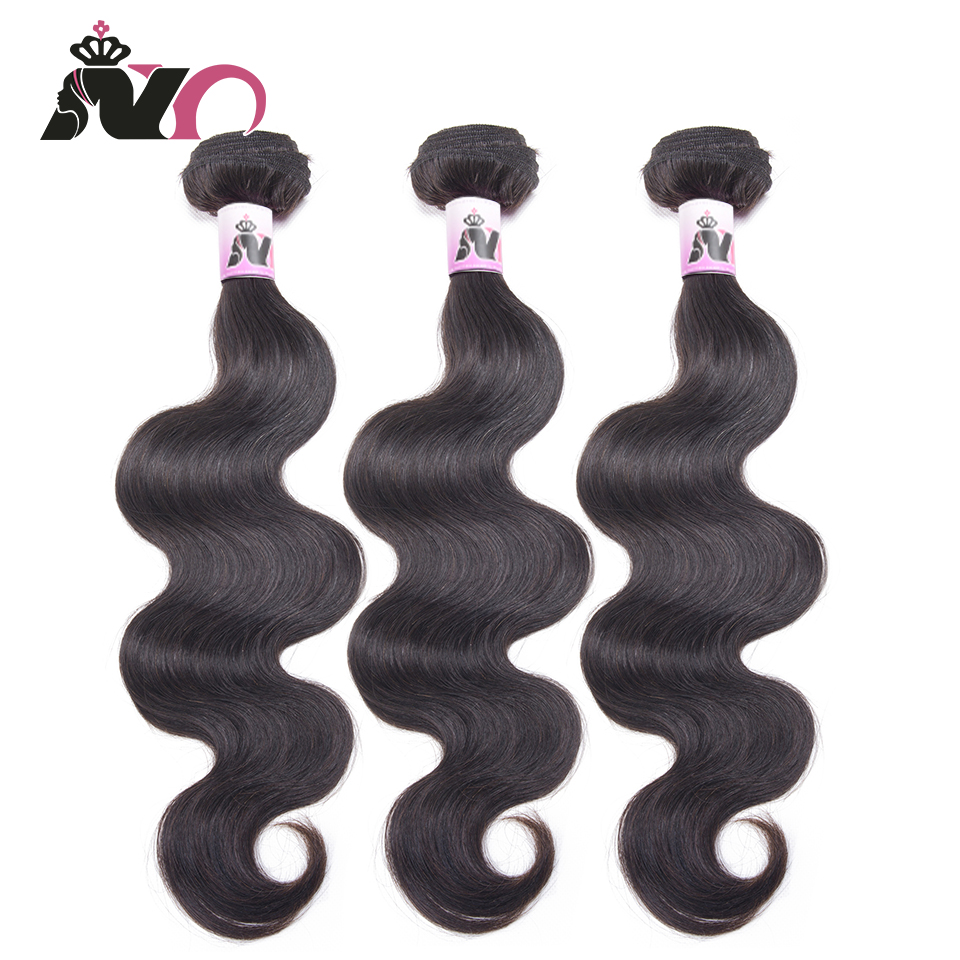 NY Peruvian Body Wave Hair Bundles Extension 100% Human Hair Weave Bundles Non-Remy Natural Color Hair 3 Deals 8-28 Inch Cabelo
