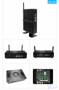 Image 3 - Topton Fanless Mini PC Intel i5 7200U i3 7100U Alumimun Alloy Dustyproof Household Mini Computer HDMI, VGA, LAN, 6 USB 300M WiFi