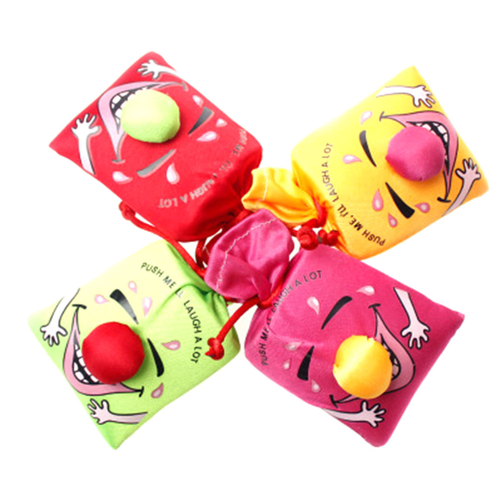 Color Random!!  Funny Creative Tricky Person Funny Novelty Toys Music Laughing Bag Haha Bag