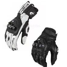 Мото rcycle кожаные перчатки гоночные перчатки мужские Мото Кросс перчатки мото защитные перчатки AFS6 AFS18 перчатки