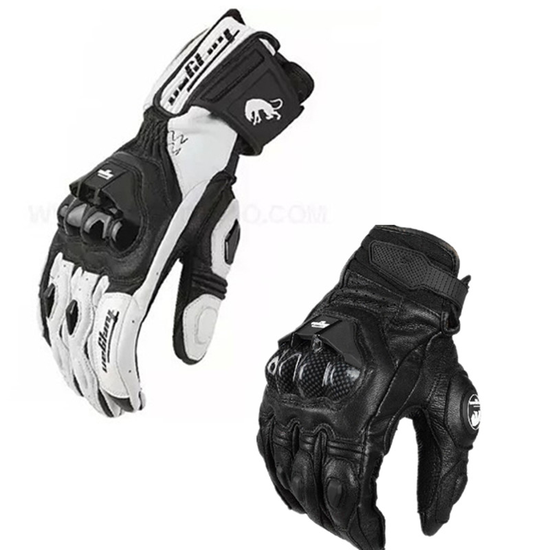 Motorcycle Leather Gloves Racing Gloves Men's Motocross Gloves Moto Protective Gloves AFS6 AFS18 Gloves