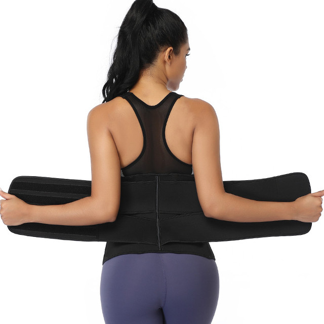 Waist Trainer Neoprene Body Shaper Women Slimming Sheath Belly Reducing Shaper Tummy Sweat Shapewear Workout Trimmer Belt Corset 5