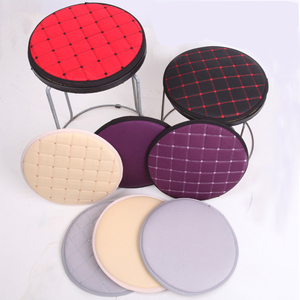 Soft Round Cushion Protector Cotton Fabric Bar Stool Dentist Hair Salon Seat Chair Cushions Anti-slip Student Chair Cushion(China)