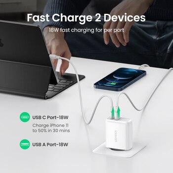 Ugreen 36W быстрое зарядное устройство 3