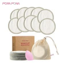 Makeup-Remover-Pad Face-Cleaning-Pad Reusable Mora Mona Environmental-Protection-Pad