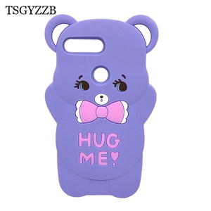 Image 5 - Honor 9 Lite Phone Case For Huawei Honor 9Lite Cover Fundas 3D Cute Pink Horse Unicorn Bear Cat Cartoon Soft Silicon Case Capa