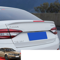 Lsrtw2017 Abs Car Tail Wing Strip Spoiler Trims for Skoda Octavia a7 2018 2019 Interior Accessories Chrome Mouldings