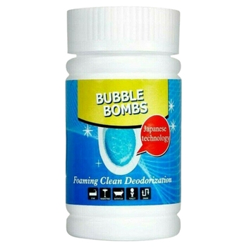 100G Fast Foaming Toilet Cleaner ic Bubble Bombs Powerful Home Cleaning Tools