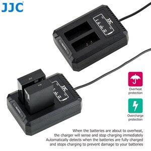 Image 3 - 캐논 파워 샷 SX70 HS EOS M M50 마크 II M100 M50 m10의 캐논 LC E12C LPE12 배터리 용 JJC LP E12 USB 듀얼 배터리 충전기