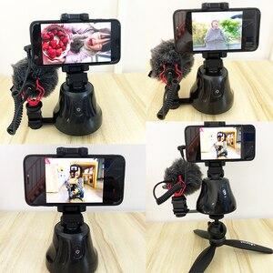 Image 2 - Apai Genie akıllı telefon Selfie çekim Gimbal 360 otomatik izleme telefon tutucu kamera için Selfie sopa Vlog kayıt Youtube canlı