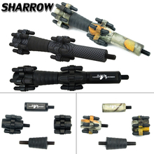 TP621 6.5inch Archery Compound Bow Stabilizer Damping Balance Bar Recurve Bow Absorber Shock Hunting Bow And Arrow Accessories цены онлайн