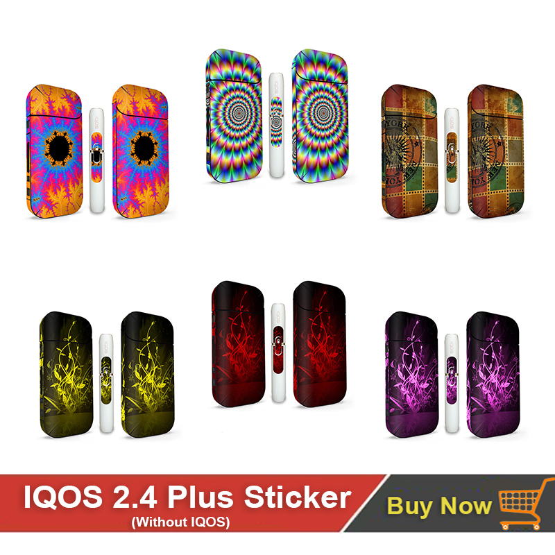 3M PVC Material IQOS Skin For IQOS 2.4 Wrapper 2.4 Plus Sticker Protector Decorative Dustproof