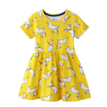 Baby Girl Clothes Short Sleeve Girls Dress Stripes Kids pretty children clothing Tutu Party Princess Dresses miss haiwo fall kids dresses for girls pure cotton baby girl clothes stripes rainbow color girls long dress children s clothing