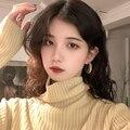 Сладко-кислые осенние и зимние серьги женские корейские Изящные Онлайн-авторитетные простые серьги для поездок Новинка 2020