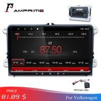 AMPrime Car Multimedia Player 2Din Android 7.1 Car Radio GPS WIFI Autoradio Auto Mirrorlink For Volkswage MirrorLink Rear Camera