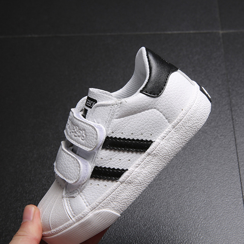 Kids Shoes For Girls And Boys Sport Shoes 5~15Y PU Leather Sneakers Summer School Shoes 6 Colors Size 23-37#