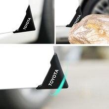 Protection d'angle de porte de voiture en Silicone, 2 pièces, 90 degrés, anti-rayures, pour Toyota camry chr corolla rav4 yaris prius
